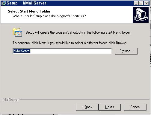 hMail 서버 설치